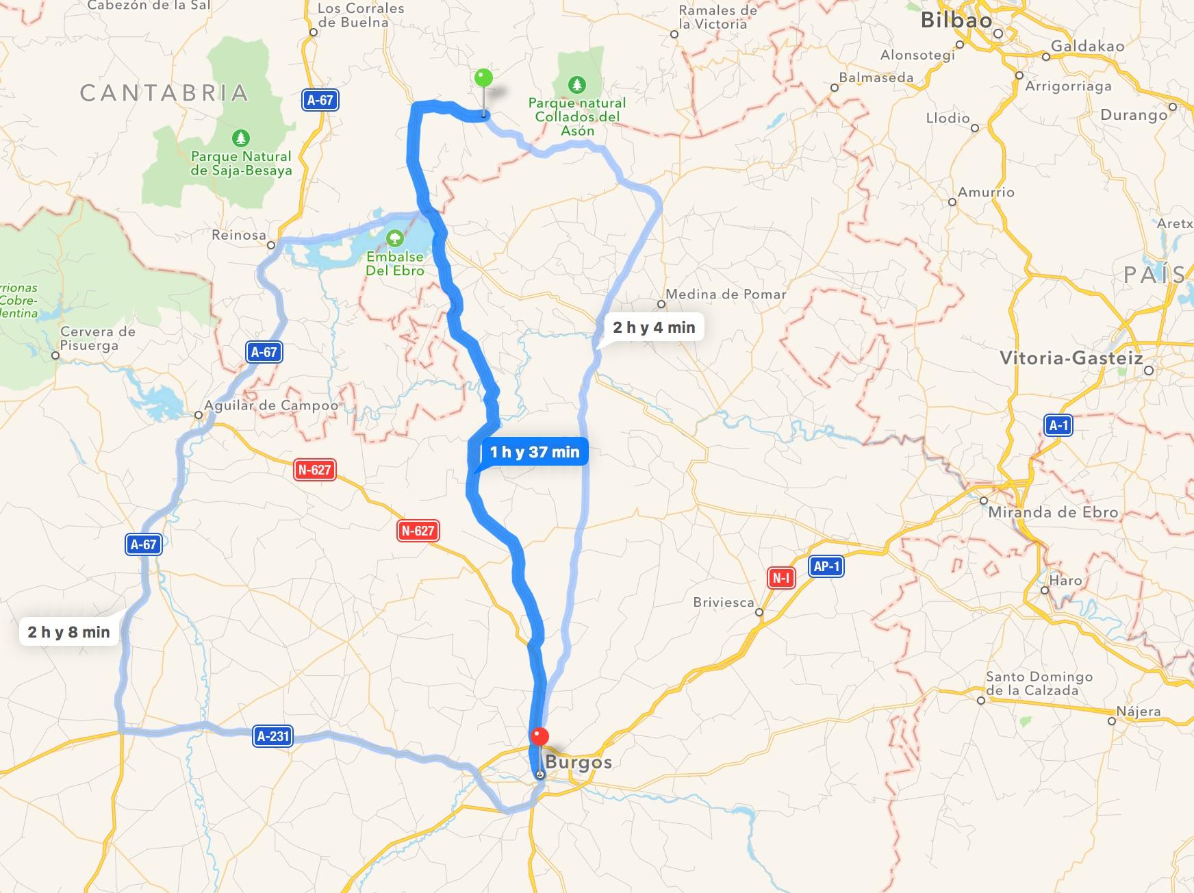 Burgos-vega de pas